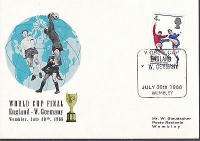 T29840 WORLD CUP FINAL England - Germany 1966 Wembley Stadion
