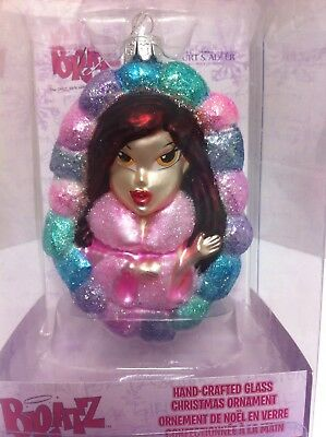 """ BRATZ""  'Somewhat Spoiled'  Kurt S Adler Glass Christmas Ornament 4.5""  NEW!!!"