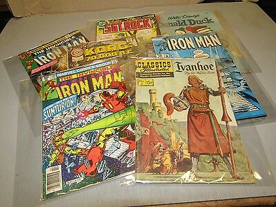 Vintage Comic Book Lot From An Estate