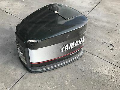 Yamaha Upper Cowl 2 Stroke 150hp V6 - Requires Paint