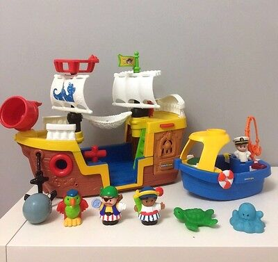 Fisher Price Little People Pirate Boat