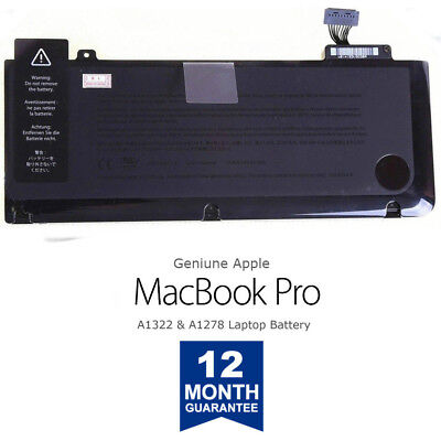 Genuine New Apple MacBook Pro 13'' Battery A1322 A1278 2009/2010/2011/2012