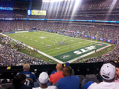 NY Giants vs Jets Tickets    August 26    1/2 Price + Free Parking