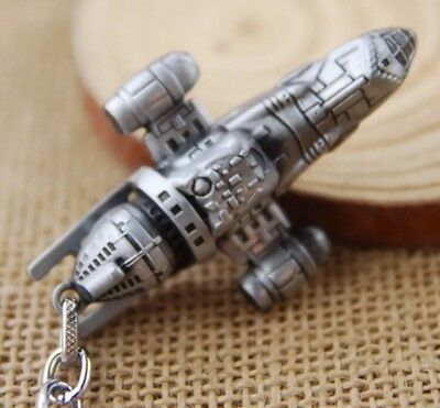 Firefly Serenity Transport Ship Metal Keychain 2 Inches US Seller