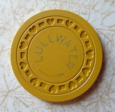 Obsolete, Rare, Lullwater, New Orleans? Casino Chip, Excellent