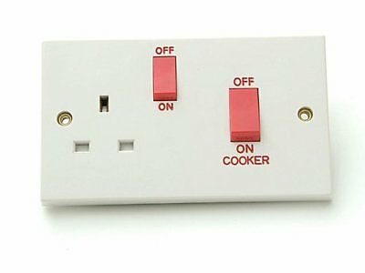 SMJ Switched Cooker Control Unit 45A 1 Gang