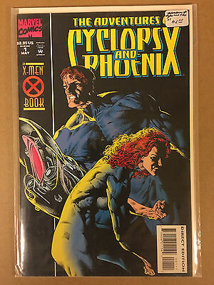 The Adventures of Cyclops and Phoenix #1-4 (1994) FREE SHIPPING - cable deadpool