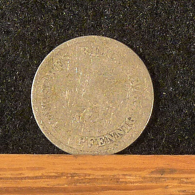 1876 E Germany  5 Pfennig Coin     F164