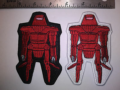 Disney The Black hole Maximilian 2 Patches White and Black COSPLAY