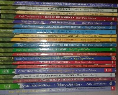 Lot of 20 Magic Tree House Books by Mary Pope Osborne S7