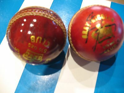 Fantastic, 2 Cricket Balls Signed By Courtney Walsh, And Tim May