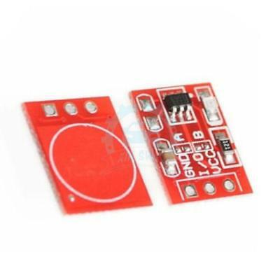 2PCS TTP223 Capacitive Touch Switch Button Self-Lock Module for Arduino yq