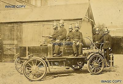 Fire Engine Eastern Hill Fire Station Melbourne Victoria 1904 Australia