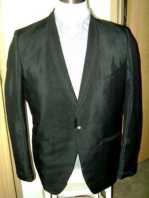 1960's Beverly Hills Malibu Imperial MOHAIR Suit Jacket! Rockabilly! 44 R! EUC!