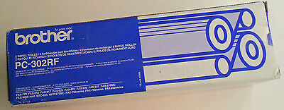 Brother PC302RF Fax Refill Rolls x 2 - 235 pages - GENUINE