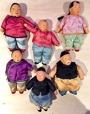 Micheal Lee Chinese FAMILY composition Doll