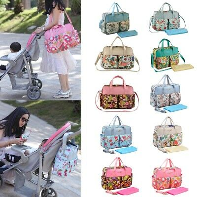 Travel Multifunction Mommy Diaper Nappy Changing Bags Mummy Baby Travel Bag Tote
