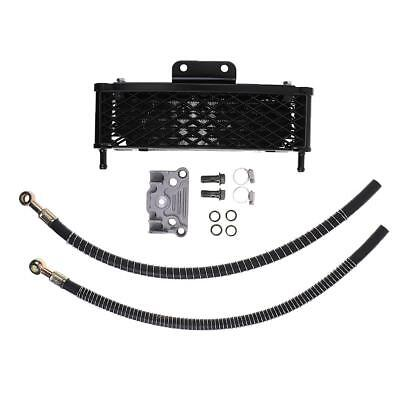 Black Oil Cooler Engine System Kit For 140/150/160cc Motorcycle Pit Bike