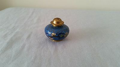 Cloisonne Salt/Pepper Shaker