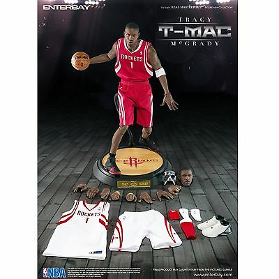 1/6 Scale ENTERBAY Real Masterpiece NBA Collection - Tracy Mcgrady Action Figure