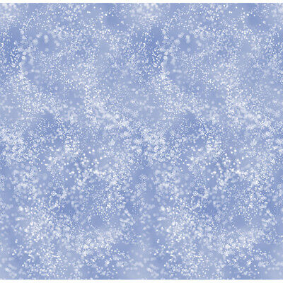 Snow Flurries Scene Setter - Christmas Room Roll Party Decorations - 40ft x 4ft