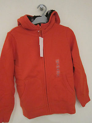 Uniqlo Hoodie NEW with Tags Size 130 (8 years old) Boys Orange