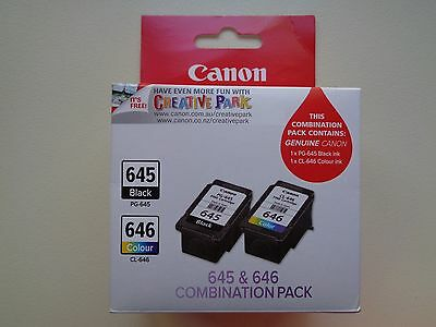 645&646 Genuine Canon Black Colour ink cartridge series Pixma