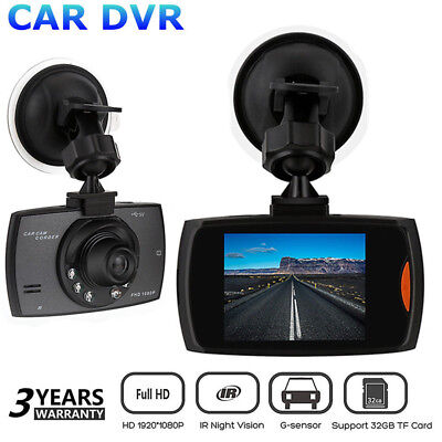 2.7 HD 1080P In Car DVR vehicle Camera Dash Cam Recorder G-Sensor Night Vision
