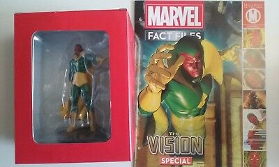 MARVEL,fact files,collection,THE VISION,neuf,eaglemoss,magazine