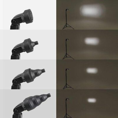Magnetic Snoot Beam Conical For Nikon Canon Yongnuo Strobe Flash Speedlite