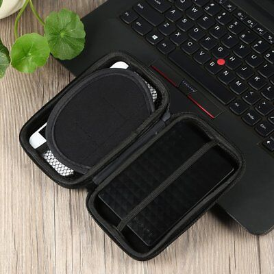 "2.5"" USB External Hard Disk Drive Carry Case Pouch For PC & Laptop HDD Lot S4W"