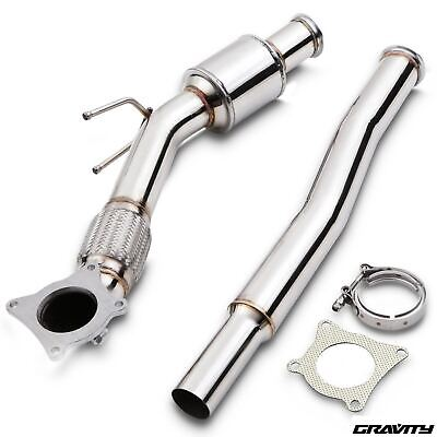 """200Cpi Sports Cat 2.5-3"""" Stainless Exhaust Downpipe For Audi A3 Tt Tfsi Axx Bwa"""