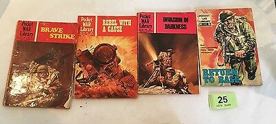 4x Picture War Library (LOT 25)