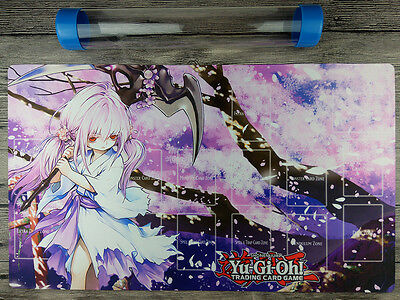 Ghost Reaper & Winter Cherries YuGiOh Playmat Master Rule 4 Free best Tube