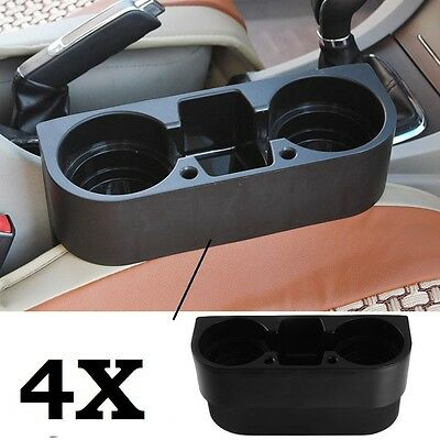 4 PCS Universal Cup Holder Car Van Storage Drinking Bottle Can Mug Mount Stand