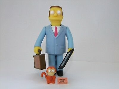 The Simpsons playmates World of Springfield Lionel Hutz interactive figure