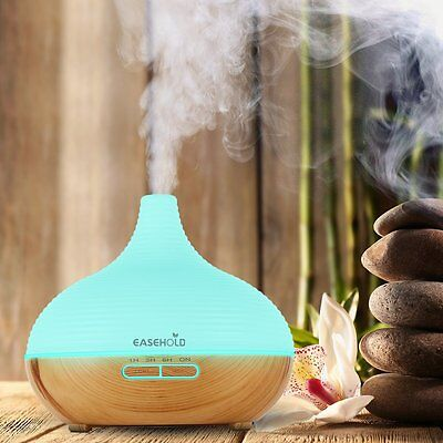 Essential Oil Aroma Diffuser Ultrasonic LED Cool Mist Humidifier For Home 300ML