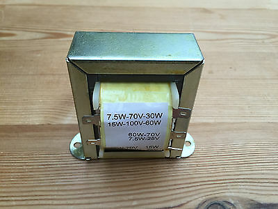 One (many available) new NOS TANNOY Professional 110V speaker transformers