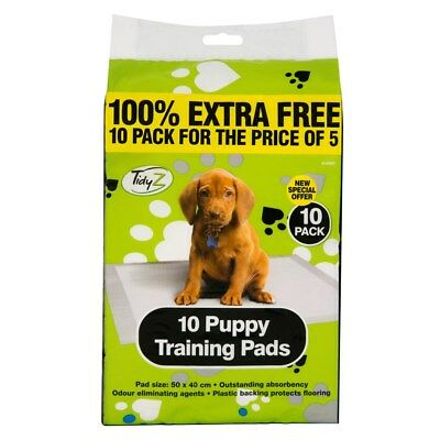 Puppy Training Pads Toilet Mats Pet Pee Wee Trainer Super Absorbent 50 x 40cm