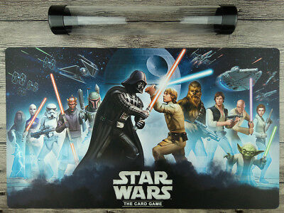 Star Wars The Card game Mat YuGiOh Custom TCG/MTG/VG Playmat Free best Tube