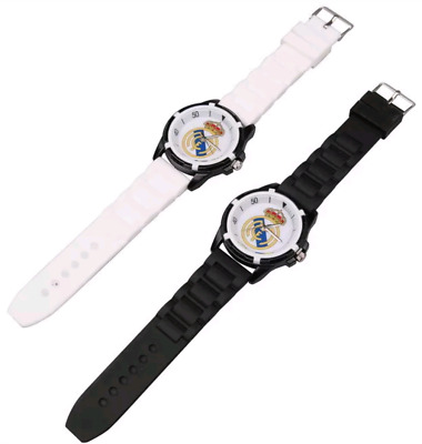 Men's Wristwatch Real Madrid Watch Sports Boy's Band Football Fan Souvenir