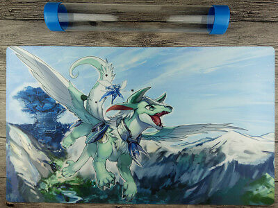 Imduk the World Chalice Dragon YuGiOh Playmat Free High Quality Tube【New&limite】