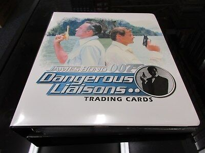 2006 James Bond Dangerous Liaisons Complete Master Set Rittenhouse Archives