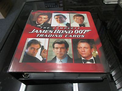 2007 The Complete James Bond Full Master Set Rittenhouse Archives