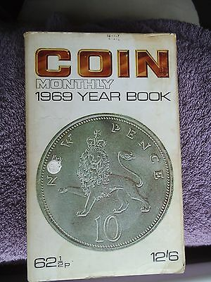 Vintage Coin Monthly 1969 Year Book