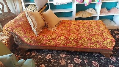 Antique Victorian Steampunk Chaise/fainting couch