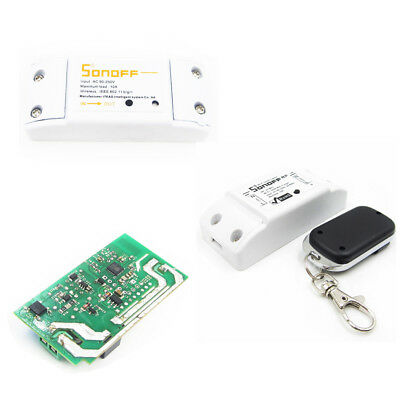Android/IOS APP Sonoff Wireless WiFi ABS Shell Socket 433Mhz RF Remote Control