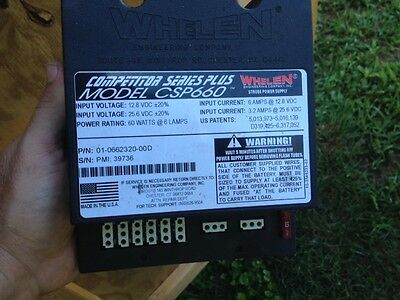 Whelen CSP660 six outlet strobe power supply