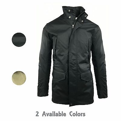Timberland Men's Waterproof Basic Long Jacket Style A1HNP