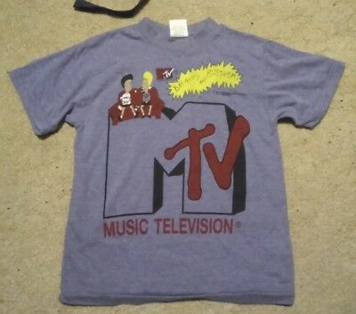 RARE 1990s Vintage MTV Beavis And Butthead Shirt - Small